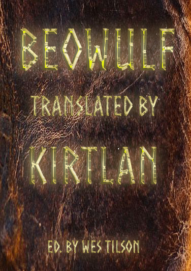 Beowulf, Translated by Kirtlan Book Cover