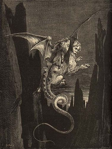 A Geryon From Dante's Inferno