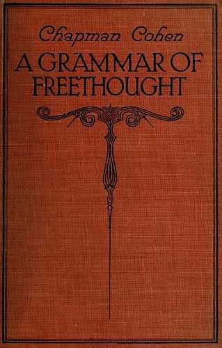 A Grammar of Freethought Cover