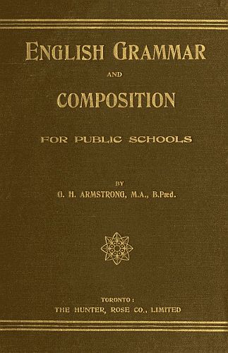 English Grammar and Composition for Public Schools Cover