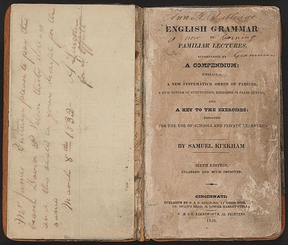 English Grammar in Familiar Lectures Cover