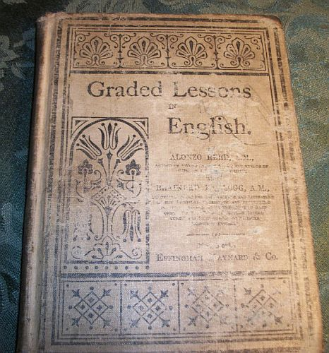 Graded Lessons in English Cover