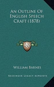 An Outline of English Speech-craft Cover