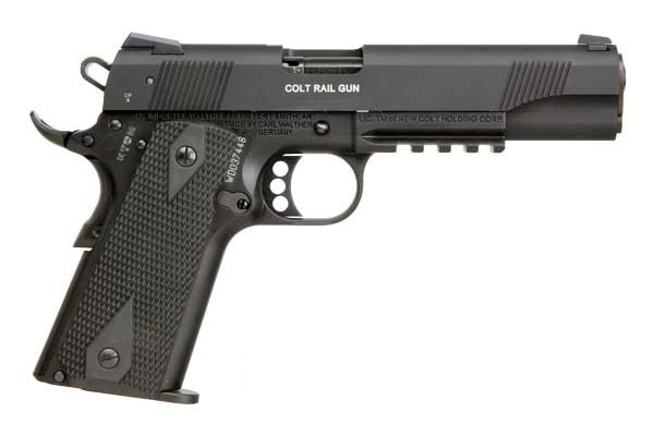 Walther/Colt 1911 .22 with sight mount Walther-colt02